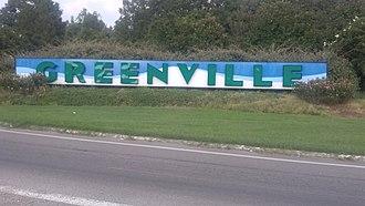 Greenville, Mississippi - Image: Greenville MS Sign