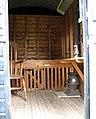 Gressenhall Farm - a glimpse inside the shepherd's hut - geograph.org.uk - 1309761.jpg