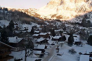 Grindelwald Municipality in Switzerland in Bern