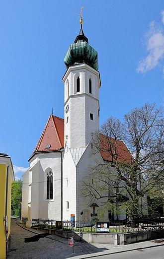 Döbling - Roman Catholic parish church in Grinzing