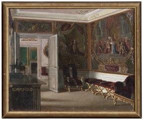 Gripsholm, interiör från Änkedrottningens våning
