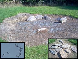 The megalithic grave of Rethen