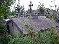 Grobowiec Heleny Chrzanowskiej na cmentarzu parafialnym w Huszlewie..JPG