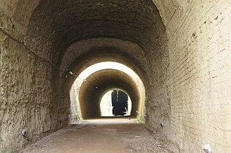 Grotta di Cocceio - Interior of Grotta di Cocceio