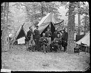 Group of officers. 16th Pa. Cavalry - NARA - 526386.jpg