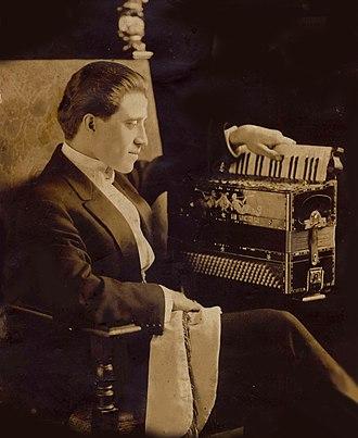Guido Deiro - Count Guido Pietro Deiro, c. 1909