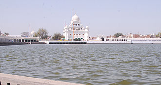 Sri Muktsar Sahib - The main Gurudwara in Muktsar