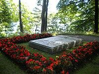 Gustaf Adolf of Sweden & Sibylla of Sweden grave 2009 (3).jpg