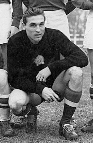 Gyula Grosics - Grosics with Hungary in 1953