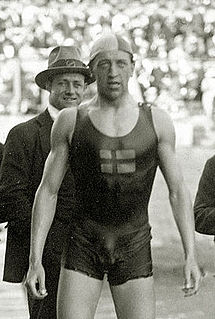 Håkan Malmrot swimmer