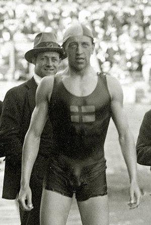 Håkan Malmrot - Håkan Malmrot at the 1920 Olympics