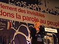 Hénin-Beaumont - Marine Le Pen au Parlement des Invisibles le dimanche 15 avril 2012 (G).JPG