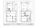 H. V. Bronson House, Route 303, Peninsula, Summit County, OH HABS OHIO,77-PEN,1- (sheet 1 of 5).png