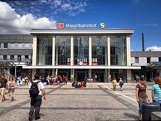 Dortmund Hauptbahnhof Railway station in Dortmund, Germany