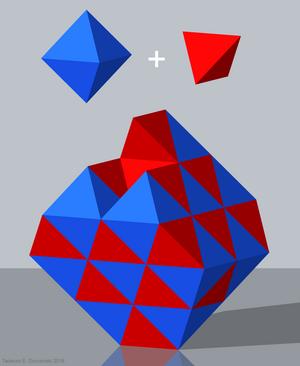 Semiregular polytope - Image: HC P1 P3