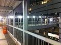 HK Admiralty footbridge 01 night 添美道天橋 Tim Mei Avenue 中信大廈 Citic Tower Feb-2012.jpg
