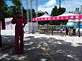 HK CWB 銅鑼灣 Causeway Bay 維多利亞公園 Victoria Park 慶祝國慶70周年 n 香港回歸祖國22周年 GD-HK-MC Guangdong-Hong Kong-Macau Greater Bay Festival Celebrations event crew artist July 2019 SSG 07.jpg