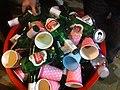 HK SW 荷李活道已婚警察宿舍 Hollywood Road Police Married Quarters night Stella Artois glass bottles Dec-2011.jpg