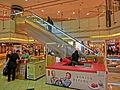 HK Sheung Wan Shun Tak Centre stall mooncake Kee Wah Sept-2013.JPG