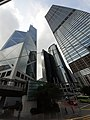 HK Tram 92 view 金鐘道 Queensway Admiralty CKC Cheung Kong Center Bank of China Tower facades October 2019 SS2 01.jpg