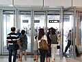 HK West Kln 圓方購物商場 Elements mall glass door visitors public holiday Sept 2018 SSG.jpg