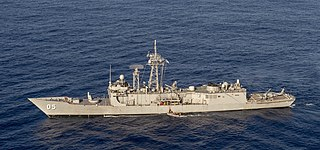 HMAS <i>Melbourne</i> (FFG 05) 1992 Adelaide class frigate of the Royal Australian Navy