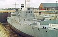 HMS M33- M29-class monitor 580 tons, Royal Navy (commissioned 1915, survivor of WWI) (11632520433).jpg