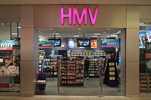 HMV Canada - The Promenade store