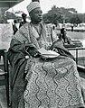 HRM, Alake of Egbaland Oba Samuel Adesina Gbadebo II 1968.jpg
