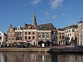 Haarlem, de Sint Bavokerk RM19264 en monumentale panden aan de Spaarne met oa RM19739 foto3 2015-01-14 12.32.jpg