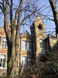 Haberdashers Askes Hatcham College Academy in London, England