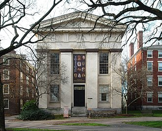 Haffenreffer Museum of Anthropology - Haffenreffer Museum of Anthropology, housed in Manning Hall.