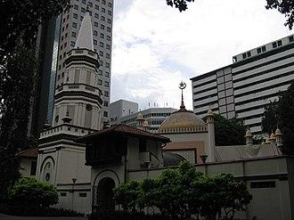 Islam in Singapore - Masjid Hajjah Fatimah