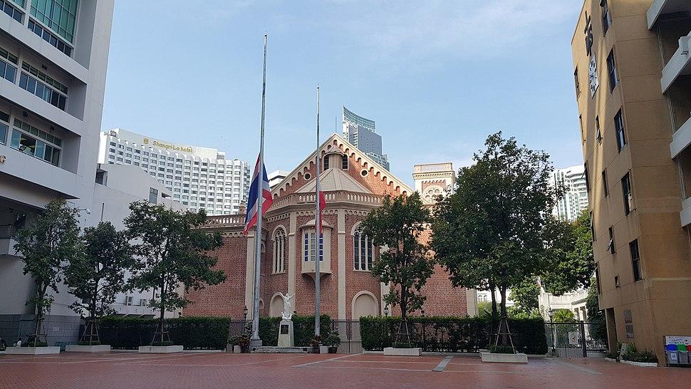 Half mast Bangkok School 2016