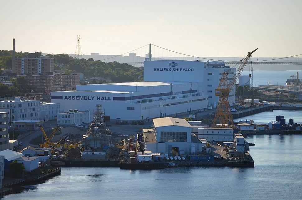 Halifax Shipyard June 2015 wide