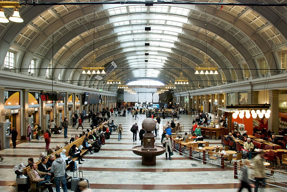 Hall, Stockholm Central Station