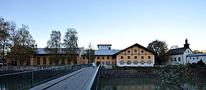 Hallein - Old saltworks on Perner Island, today a venue of the Salzburg Festival