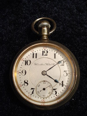 Hamilton Watch Company - Hamilton pocket watch, ca. 1904