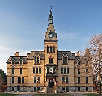 Hamline University - University Hall-Old Main from the north