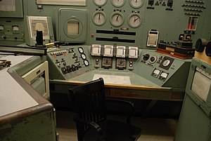 B Reactor - Hanford B Reactor Control Station as of 2014