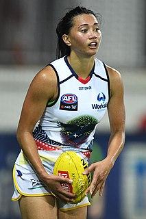 Hannah Button Australian rules footballer