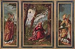 Hans Burgkmair the Elder: Altarpiece of John the Evangelist