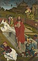 Hans Pleydenwurff - Hofer Altar, Auferstehung Christi (Rückseite, Apostel Bartholomäus und Jakobus) - 666 - Bavarian State Painting Collections.jpg