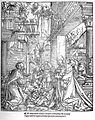 Hans Springinklee Geburt Christi aus Biblia Latina Lyon 1520 (Isny).jpg