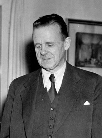 Harald Cramér - Cramér at Stockholm University 1951