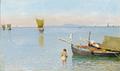 Harald Jerichau - Fiskerbåde i golfen ved Neapel.png