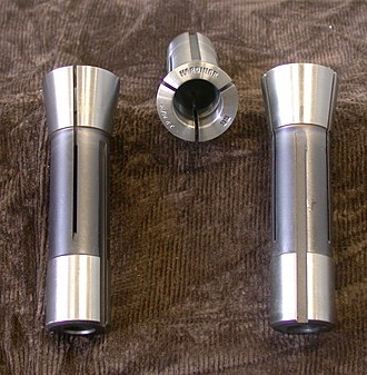 Machine taper - collets with R8 taper
