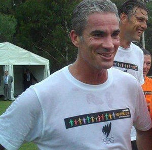 Craig Foster - Image: Harmony Day Pollies vs Professionals soccer match 28th February 2011 (5485103554) (cropped)