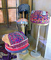 Hats on display at Jordanian Museum of Popular Traditions.jpg