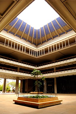 Hawaii State Capitol - Central Rotunda (5682424227)